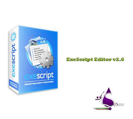 دانلود نرم افزار ExeScript Editor v2.6