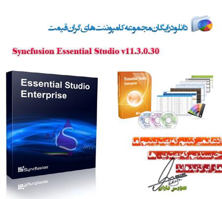 Syncfusion Essential Studio v11.3.0.30
