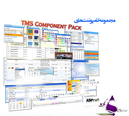 کامپوننت TMS Component Pack 6.3.2.0