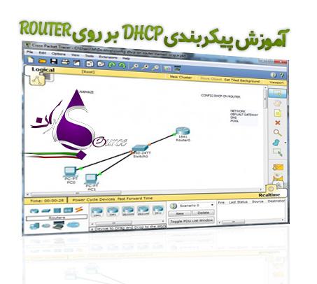 پیکربندی DHCP بر روی ROUTER