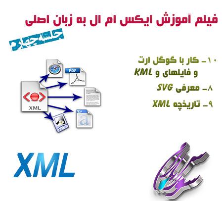 فیلم آموزش XML به زبان اصلی – جلسه چهارم