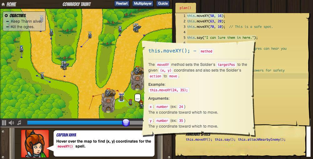آموزش برنامه نویسی با CodeCombat