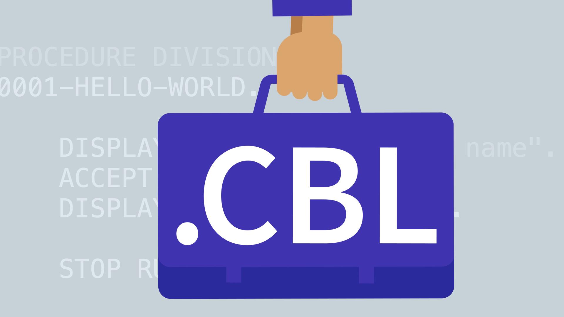برنامه نویسی COBOL