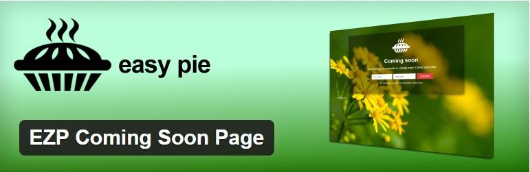 افزونه EZP Coming Soon Page