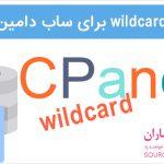 نحوه فعال کردن wildcard ساب دامین در CPanel