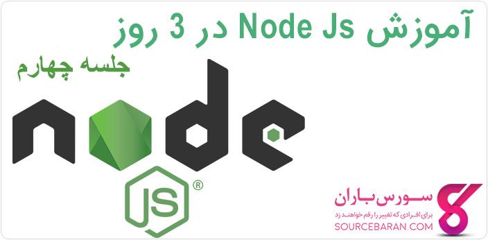 آموزش HTTP در Nod.js + ایجاد سرور و دریافت داده