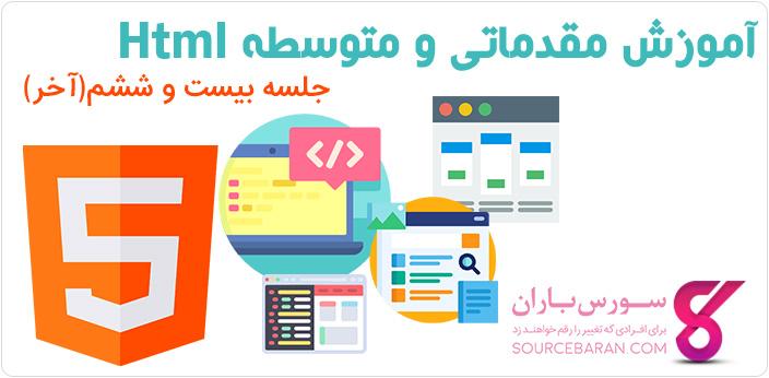 آموزش خصوصیات ورودی در HTML